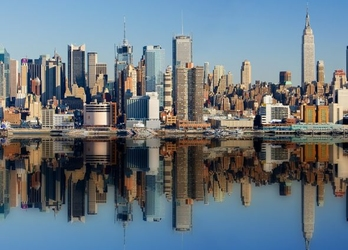 Miasto New York - fototapeta
