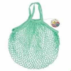 Siatkowa torba na zakupy, zielona, Rex London