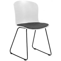 Krzesło storia białe
