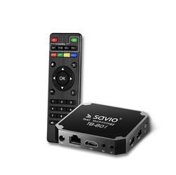 Savio smart tv box basic one 18 tb-b01 - szybka dostawa lub możliwość odbioru w 39 miastach