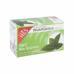 Hs Bio zielona herbata w torebkach