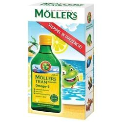 Tran mollers cytrynowy 250ml + kolorowy stempelek