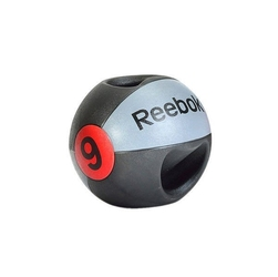 Reebok piłka lekarska z uchwytem 9 kg - 9 kg