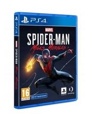 Sony gra ps4 spider men miles morales