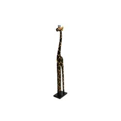Żyrafa indonezyjska z drewna - drewniana rzeźba - 150 cm