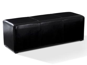 Tapicerowany prostokątny puf kubik iii
