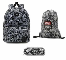 Zestaw szkolny plecak worek piórnik Vans Old Skool III Marvel - VN000ONIHU0 006