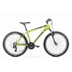 Rower górski romet rambler r6.0 26 2020, kolor limonkowy, rozmiar 17