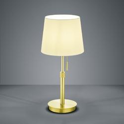 Elegancka lampa stołowa z regulacją wysokości lyon mosiądz