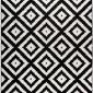 Dywan czarno-biały Diamonds