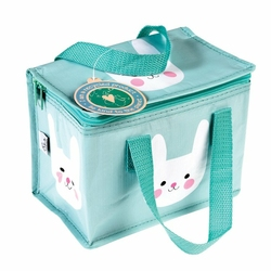 Kolorowa torba termiczna na lunch króliczek bunny Rex London