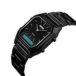 Zegarek SKMEI 1220 LED BRANSOLETA black - BLACK