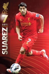 Liverpool suarez 1213 - plakat