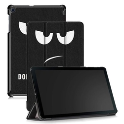 Etui alogy book cover do galaxy tab a 10.1 2019 dont touch my pad - dont touch my pad