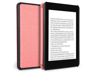 Etui case Dux Ducis do Kindle Paperwhite 4 rose golden - Różowy