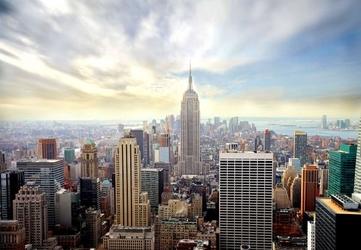 Manhattan, new york - fototapeta 366x254 cm