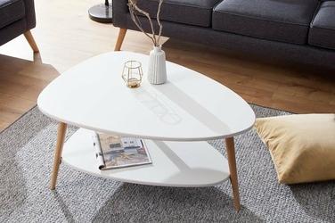Interior Space :: Stolik Scandinavia biały dąb
