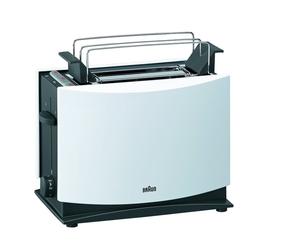 Toster BRAUN HT450  biały  1000 W  rozmrażanie  centrowanie pieczywa