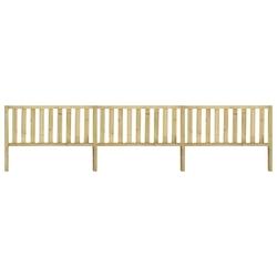 Vidaxl ogrodzenie z impregnowanego drewna sosnowego, 5,34x1,3 m