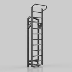 Drabinka metalowa uf-007 - upform