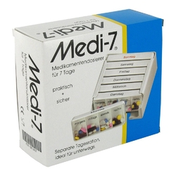 Medi 7 dozownik na medykamenty na 7 dni
