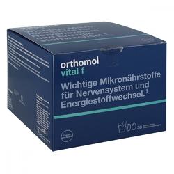 Orthomol vital f 30 granulatkapsułki