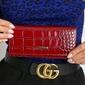 Portfel damski skórzany rfid lorenti 72401-stw czerwony - 72401-stw red