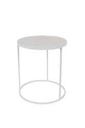 Zuiver stolik glazed biały 2300126