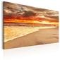 Obraz - plaża: piękny zachód słońca ii