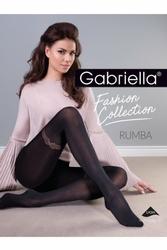 Gabriella 406 rumba nero rajstopy