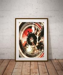 Abstrakcja iv - plakat premium wymiar do wyboru: 20x30 cm