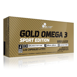 OLIMP Gold Omega 3 Sport Edition - 120caps