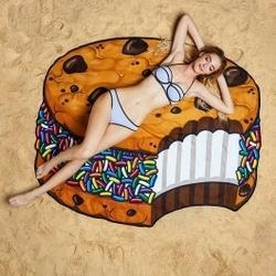 Koc plażowy ciasteczko