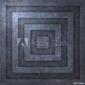 Plakat na papierze fotorealistycznym metalowa tekstura