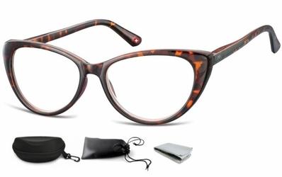 Plusy okulary do czytania i komputera kocie mr64a