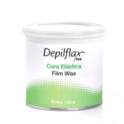 Depilflax 100 elastyczny wosk do depilacji  puszka 500ml naturalny
