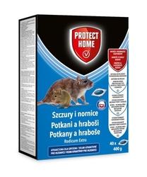 Rodicum extra – pasta trutka na szczury i nornice – 400 g 40x10 g protect home