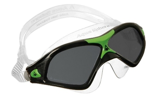 Aquasphere okulary-maska seal xp 2 ciemne szkła, black-green