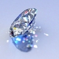 Tapeta ścienna diamentowy klejnot z odbiciami