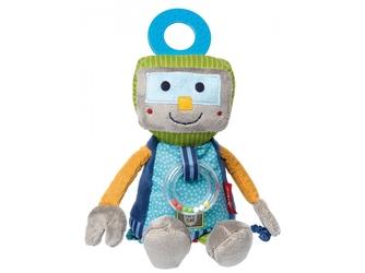 ROBOT przytulanka aktywizująca z gryzakiem PapaMe