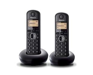 Panasonic telefon stacjonarny kx-tgb212 dect duo czarny