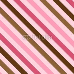Tapeta ścienna różowe i brązowe paski
