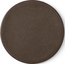 Talerz płaski pokrywka new norm 17,5 cm ciemny brąz