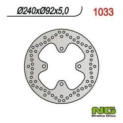 Ng1033 tarcza hamulcowa yamaha x-max 125250 240x92x5