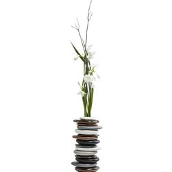 KARE Design :: Wazon Pebbles Mocca 36cm - wielokolorowy