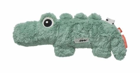 Przytulanka z wypełnieniem z groszku Done by deer krokodyl mały