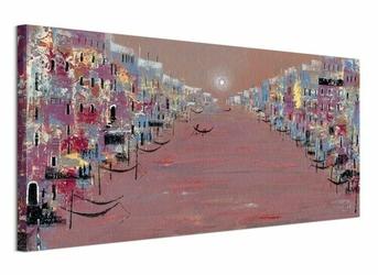 Lee McCarthy Sunset VENICE - Obraz na płótnie