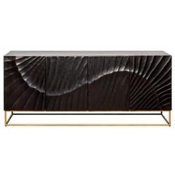 Elegancka drewniana komoda scorpion  szer. 177 cm