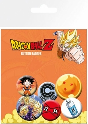Dragon Ball Z Mix - przypinki