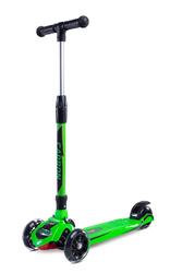 Toyz Carbon Zielona Hulajnoga trójkołowa balansowa